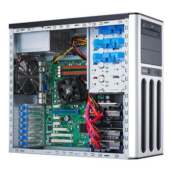 Сервер ASUS TS100 DC i3-2100 3.10GHz/2-core/1P 2GB NHP-SATA 250GB DVD-ROM Twr Артикул: TS100-E7/PI4*