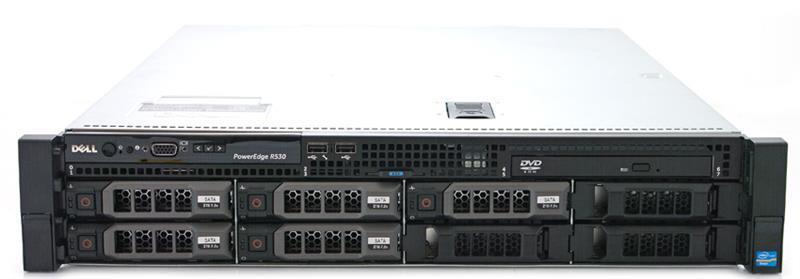 Сервер DELL R530 E5-2620v4 16GB SSD 120GB H730 DVD iDRAC Ent 750W 3Y Rck Артикул: 210-R530-ST20-C2