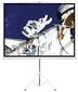 Экран на треноге PSDB80 (1:1)  150*150 - LUMI